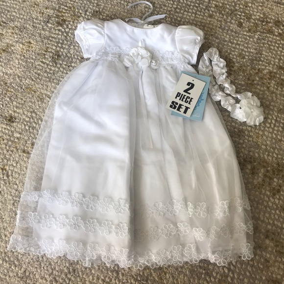 Sweet Heart Rose Other - NWT white infants dress